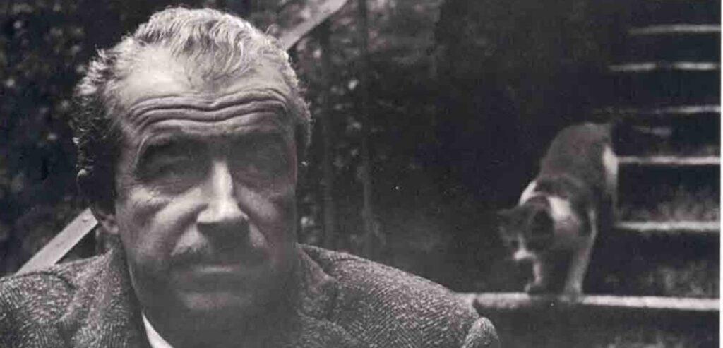 Orhan Kemal ve Kedisi