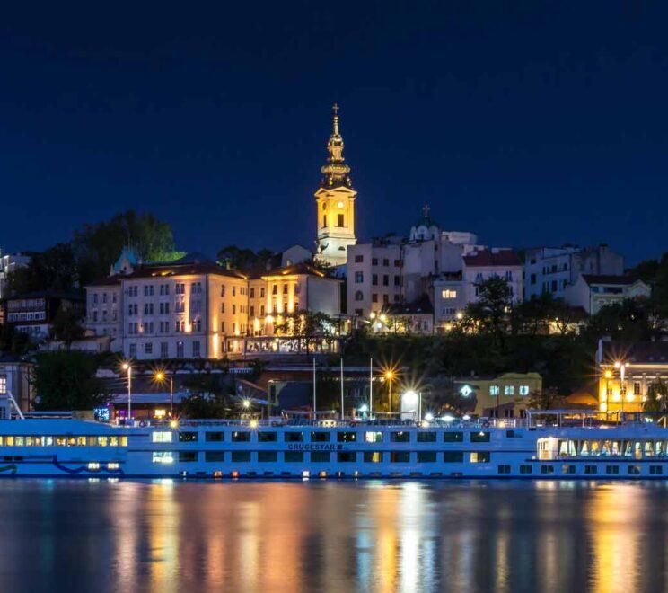 Belgrad aksam manzara
