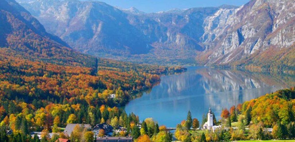 Bohinj Gölü Slovenya