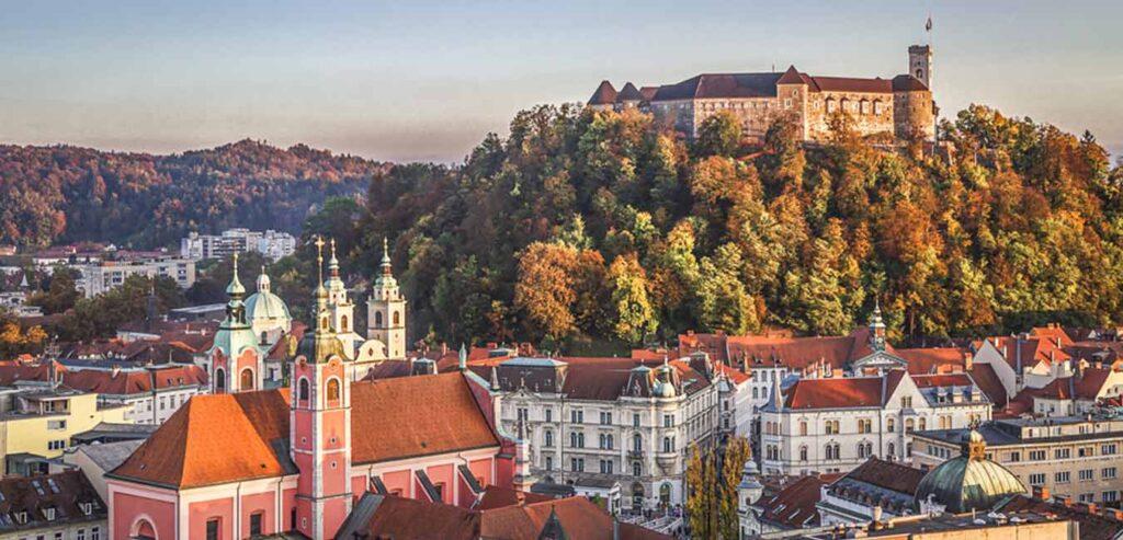 Ljubljana Kalesi Slovenya